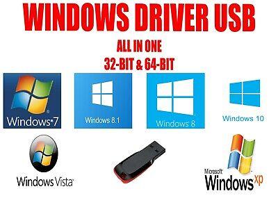 Windows Drivers 2020 USB Install Update Any Drivers Windows XP Vista 7 8 8.1 10