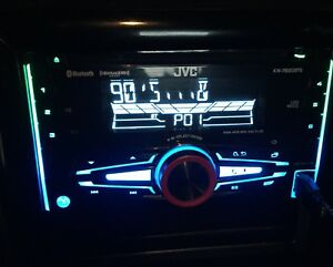 jvc double din stereo with bluetooth and more