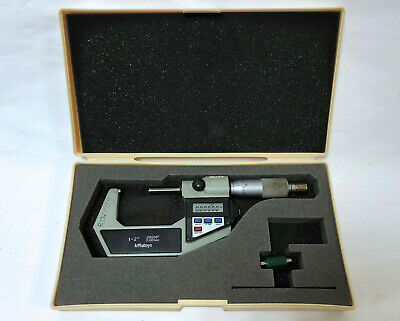 Mitutoyo 293-712 2digital Readout Outside Micrometer 0.00005 Graduation