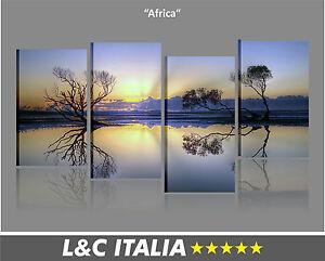 Africa quadri moderni arredo casa salotto camera stampa for Quadri moderni salotto