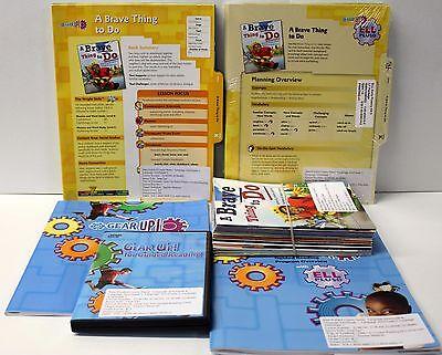 Gear Up,Ell Fluency Kit: Grade 2-3 Guided Reading,ELL Lesson Plans,DVD,Books (4) Guided Reading Lesson Plans