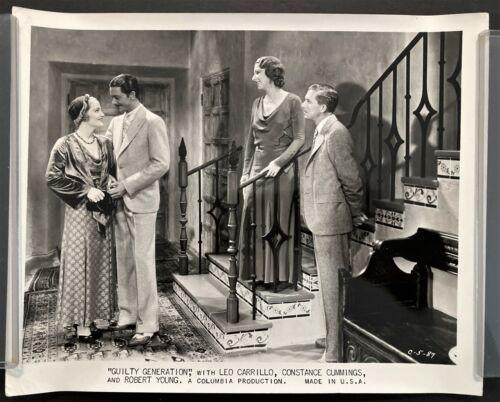 "1931 CONSTANCE CUMMINGS ""GUILTY GENERATION"" PRE-CODE CRIME MOVIE STILL PHOTO #2"