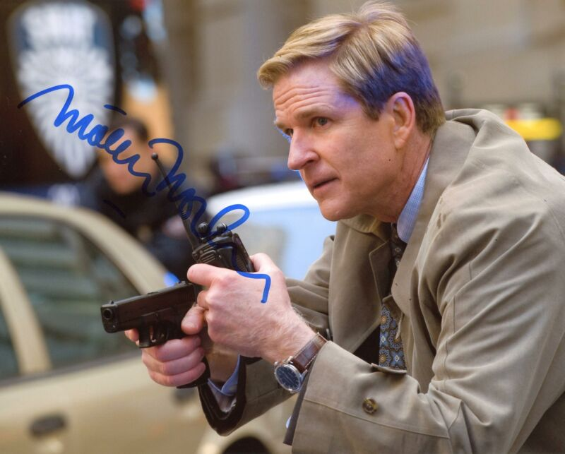 "Matthew Modine ""The Dark Knight Rises"" AUTOGRAPH Signed 8x10 Photo ACOA"