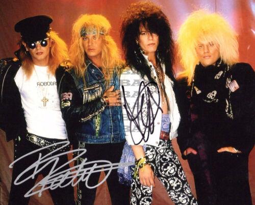 Poison Autographed signed 8x10 Photo Reprint