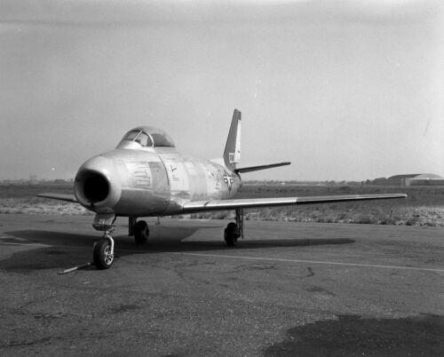 "5783 Original 4X5"" Negative Vintage Military Aircraft F-86A-1-NA NAA"