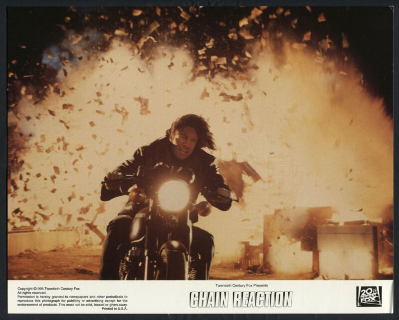 KEANU REEVES MOTORCYCLE EXPLOSION Chain Reaction '96