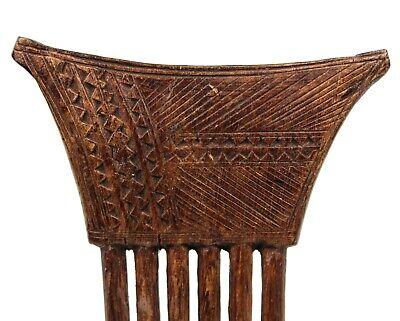 Art African - Comb Baoulé - African Comb Kamm African Africa - 19,5 CMS