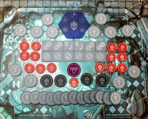 Suitable for Warhammer Underworlds : Direchasm - General Token Set