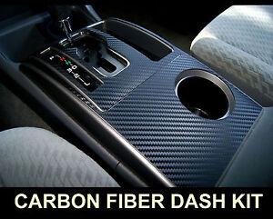 Fits Cadillac CTS 03-07 Carbon Fiber Interior Dashboard Dash Trim Kit Parts FREE