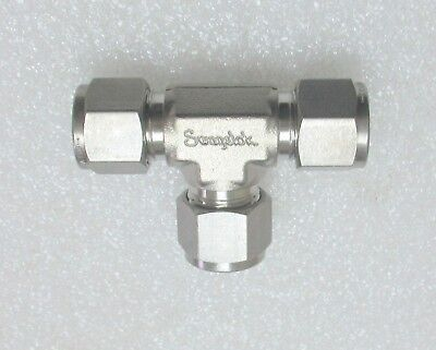 Swagelok 12 Stainless Steel Tee Ss-810-3  Several Available New