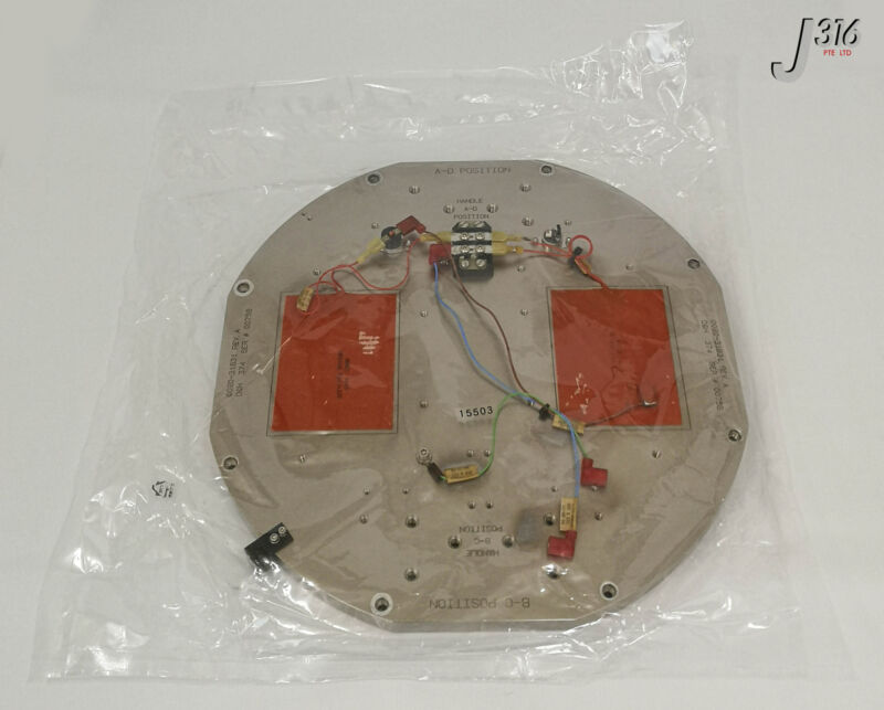 15503 Applied Materials Plate Etch Chamber Top Cover 0020-31831