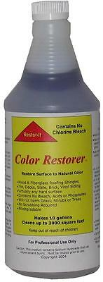 (Roof & Deck cleaner concentrated outdoor cleaner for asphalt shingles-wood 1 Gal)