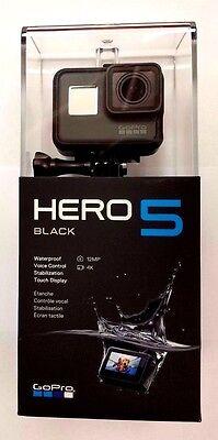 GoPro HERO 5 Camcorder - Black 12MP 4k Ultra HD - Camera (Latest Model) NEW!!