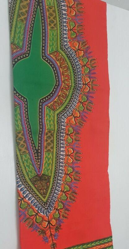 Beautiful+African+print+fabric+orange+and+green