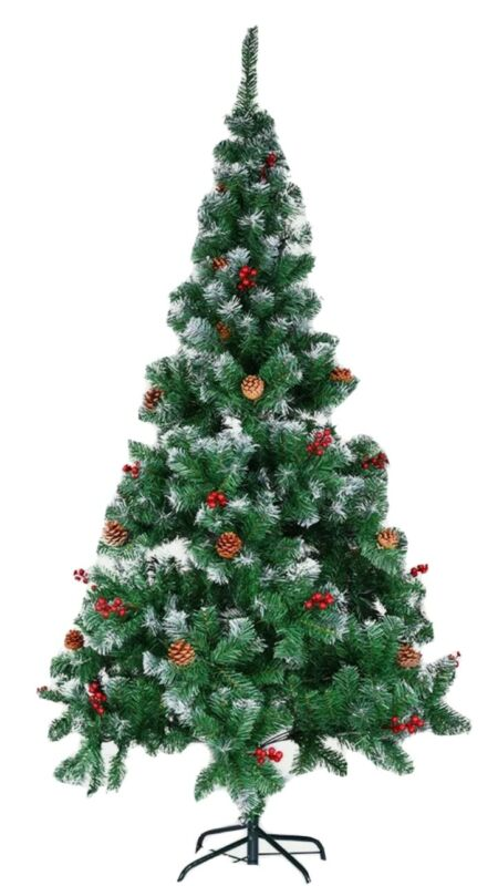 5ft+Snowy+Christmas+Tree