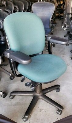 STEELCASE 4611410 DRIVE ERGONOMIC OFFICE / DESK COMPUTER CHAIR SWIVEL ARMS GREEN, used for sale  San Gabriel