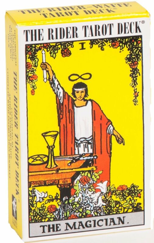 Rider Waite ORIGINAL Tarot Card Cards Deck 78 Cards REGULAR size + Instructions