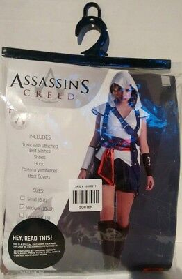 Adult Female Assassin's Creed Connor Costume Halloween Women's Ubisoft Official