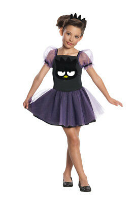 o Kitty Badtz Maru Child Costume Black/Purple Lrg 12-14 NEW (Purple Kitty Kostüm)