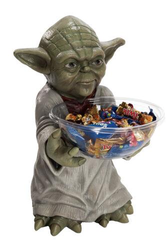 Star Wars Aktion Rubies Yoda Süßigkeiten-Halter Figur ca. 50cm NEU