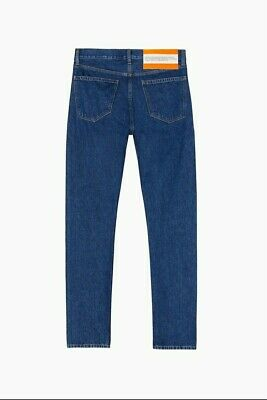 Calvin Klein Jeans EST.1978 Apollo Blue Comes With Jean Pouch 29x32 HYPE (RARE)