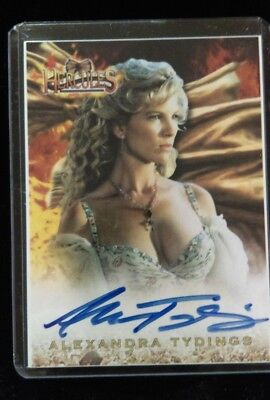 Alexandra Tydings Signed Trading Card A17 AUTOGRAPHED Aphrodite Hercules Xena