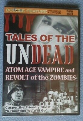 Casper Ghost Halloween Movie (Horror Double Featue DVD Tales Of The Undead 2 Movies Plus Casper Cartoon)