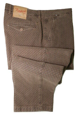 £450 MARCO PESCAROLO NAPOLI NWT CHINO UK 34 IT 50 MADE IN ITALY PANTS TROUSERS*
