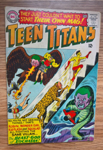 Teen Titans #1 (DC 1966) 1st Issue in Series! HOT KEY COMIC Ungraded See 6 Pics