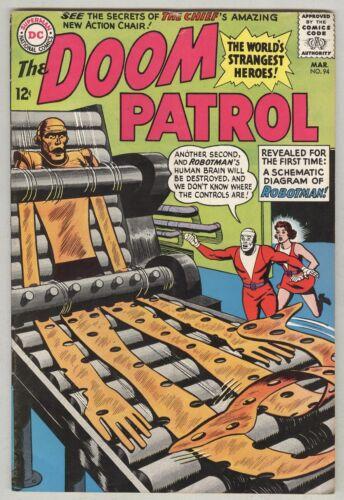 Doom Patrol #94 March 1965 VG/FN