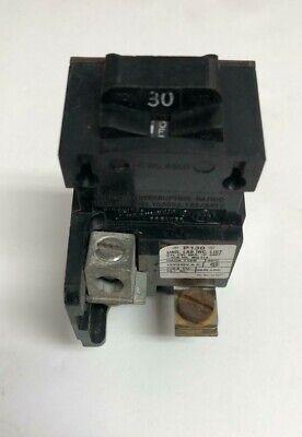Pushmatic P130 30 Amp Single Pole Circuit Breaker Ite Siemens Bulldog