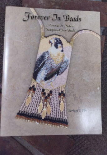 Beading Book - Forever in Beads by Barbara Elbe - bead charts and word patterns