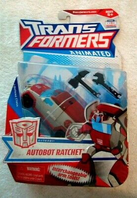 Transformers Animated AUTOBOT RATCHET Deluxe Class MISB C-9.0