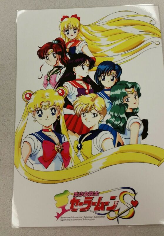 Sailor Moon S group poster 11x17 laminated.