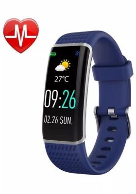 Runbest Fitness Tracker, Heart Rate Monitor Color Screen Smart Watch