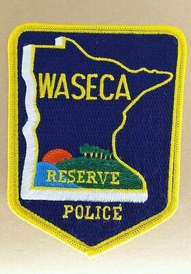 WASECA, MINNESOTA RESERVE POLICE SHOULDER PATCH MN