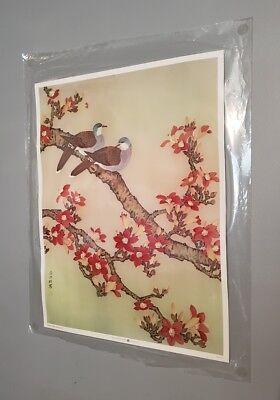 Oriental/Asian Floral Artwork Print 26