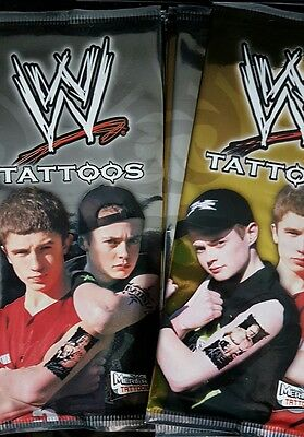 WWE TATTOOS X 10 PACKS