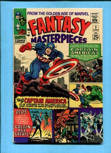 Fantasy Masterpieces #3 Marvel Comics June 1966 Golden Age Reprints Jack Kirby