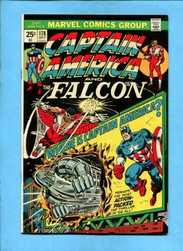 Captain America & The Falcon #178  Marvel Comics October 1974