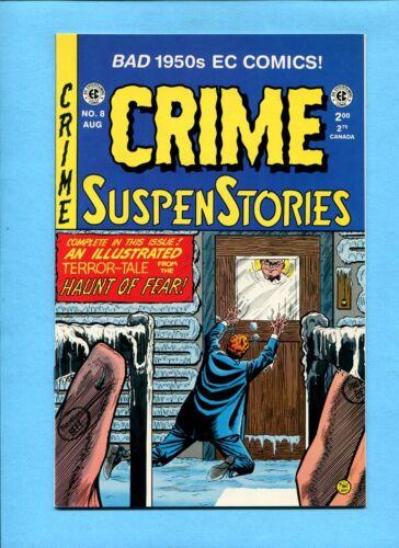 Crime Suspenstories #8 E.C. Comics Reprint Russ Cochran August 1994 Craig Ingles