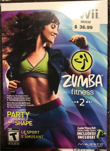 Wii Zumba & Wii Active $25 for both.