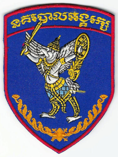Cambodia National Police Bodyguard Officer Department Garuda Sleeve Patch