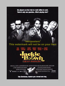 JACKIE-BROWN-CAST-X2-PP-SIGNED-POSTER-12X8-TARANTINO