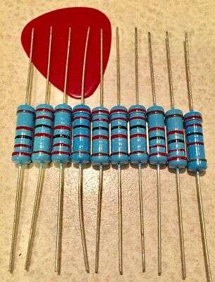 5 Pcs 2watt Metal Film Resistors 2w Resistor 1 You Choose The Value