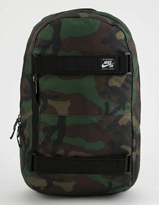 Nike SB Courthouse Backpack -NEW- BA5438-223 Skateboarding Camo Brown Iguana RPM
