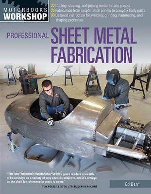 Professional Sheet Metal Fabrication by Ed Barr (English) Paperback Book Free Sh