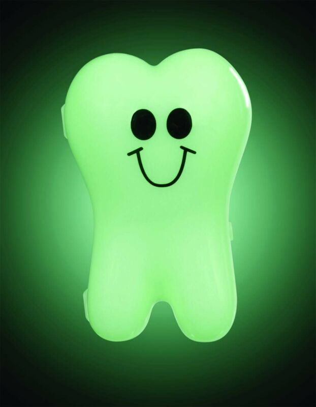 Twinkle Toof Glowing  Glow in the Dark Tooth Box Tooth Fairy