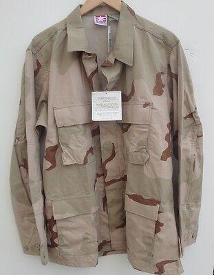 PROPPER BDU Men's  Shirt Jacket Camo Blend Cotton Size-L-New Camo Propper Bdu Shirt