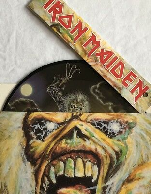 "IRON MAIDEN -Bring Your daughter To The Slaughter-  7"" Picture Disc/Brain Pack"